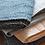 Thumbnail: Lot de 3/Couvre lit grand lit courtepointe  coutures blanches
