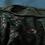Top tricot uni manches longues /turquoise/coton lycra/col droit
