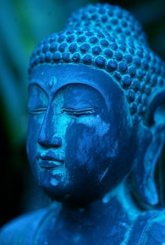 Ambiance bleue