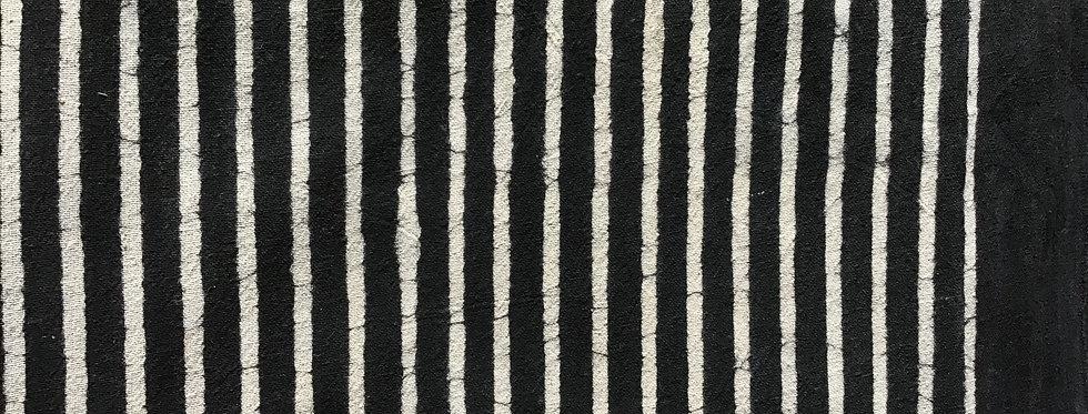 nappe noire/tissu batik/nappe batik/tissus Paris/nappe noire et blanche coton/shibori plaid/indian bedcover/indian bedspread/
