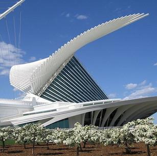 Fav Building Friday: Milwaukee Art Museum's Quadracci Pavilion