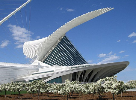 Fav Building Friday: Milwaukee Art Museum's Quadracci Pavilion