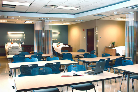 IUPUI School of Nursing Classroom