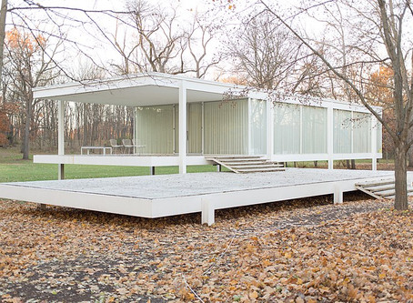FavBuildingFriday: Farnsworth House designed by Mies van der Rohe