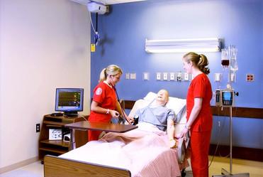IUPUI School of Nursing Classroom Bed