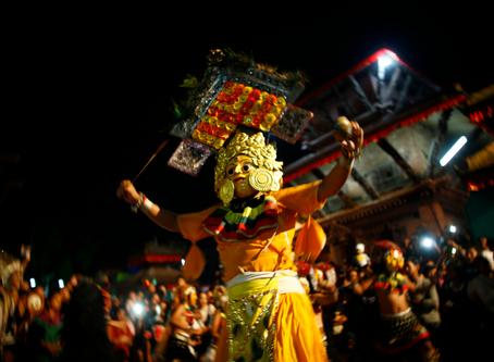 ネパールのお祭り - ガイジャトラ(牛祭り)