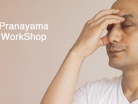 正しく学ぶプラナヤマ(呼吸法)ワークショップ【8月23日(日)】