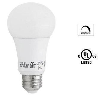 LED Bulb A19 8w 800 lumen