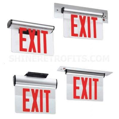 LED Exit Sign - Mirror