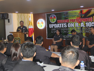 Conduct of Seminar on Updates of Republic Act 10592