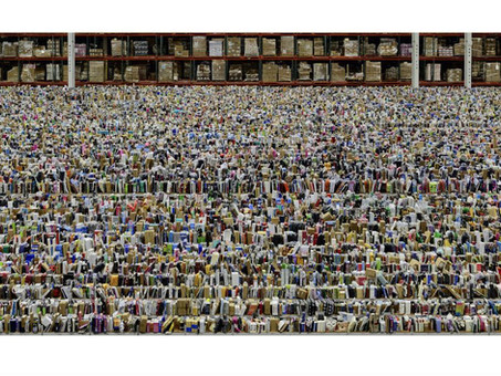 """Andres Gursky's """"Amazon"""""""