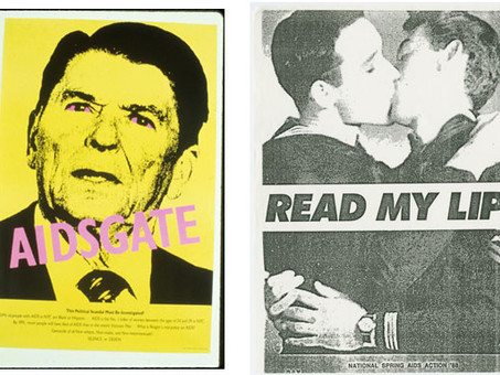 AIDS, Art, and Activism (from Hyperallergic)