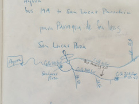 Maps, hand-drawn