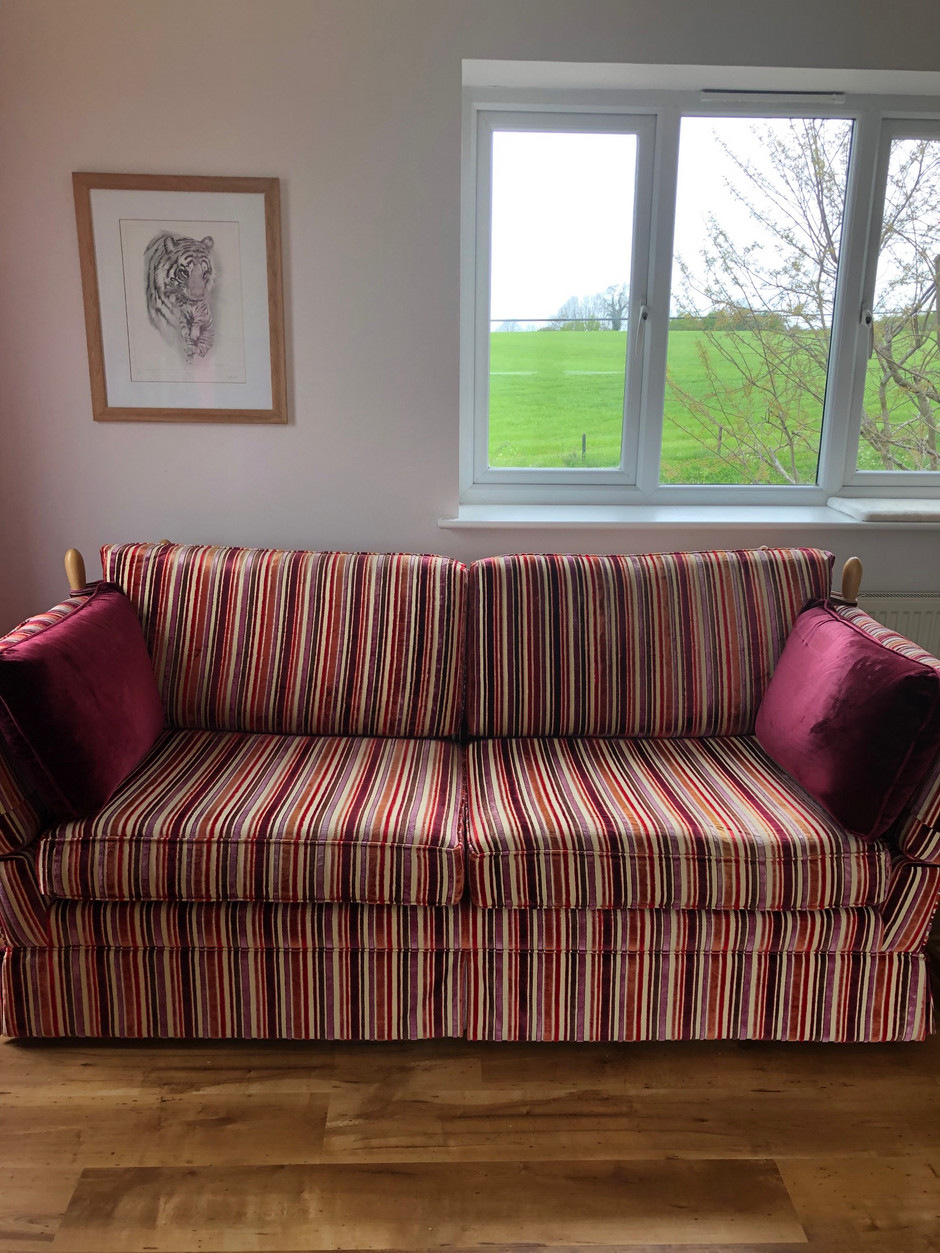 Fantastic cushions given a new lease of life