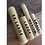 4 Sizes Hand Rolled Beeswax Candles Sample Set [Small, Medium, Large, Extra Large]