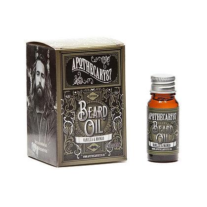 Apothecary 87 Vanilla & Mango Beard Oil S