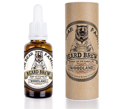 MR. BEAR BEARD OIL WOODLAND
