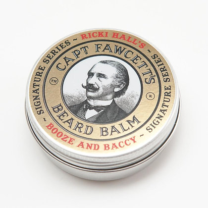 Captain Fawcett Beard Balm Booze & Baccy