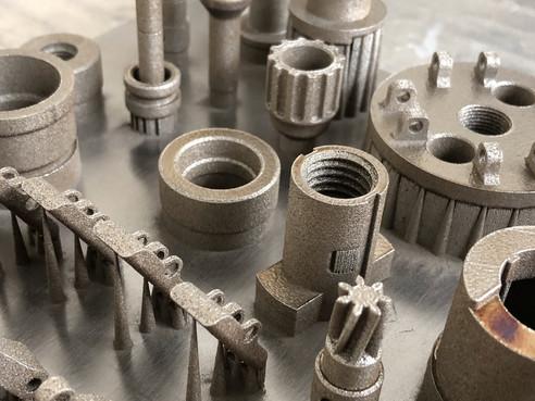 Realizzazione componenti mediante stampa 3D