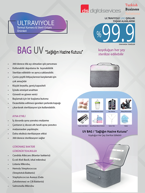UV Sterilize Çanta - UV BAG