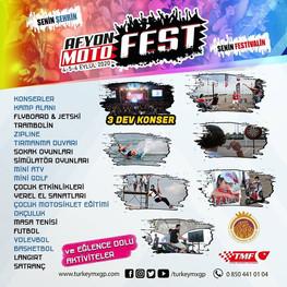 Afyon Motofest'in 3.'si İçin Geri Sayım Sürüyor