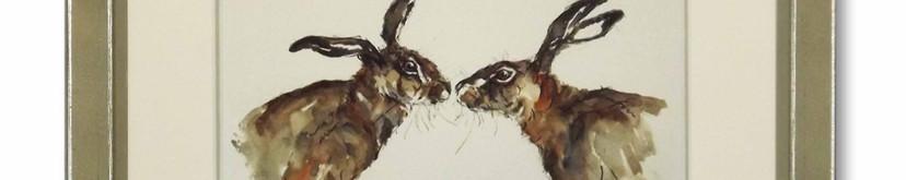Kissing HAres (Anne Gilbert.jpg