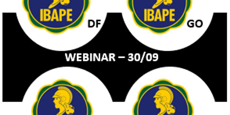 Webinar - I° Seminário online de filiados dos IBAPEs do Centro-Oeste