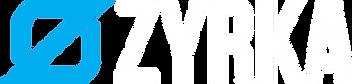 Zyrka logo_white letters, blue mark.png