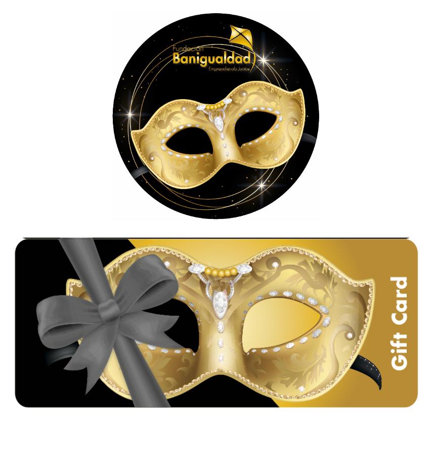 Sticker y gift card fiesta