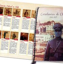 Libro ilustrado Carabineros de Chile