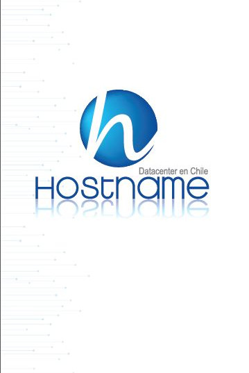 Pendón corporativo Hostname