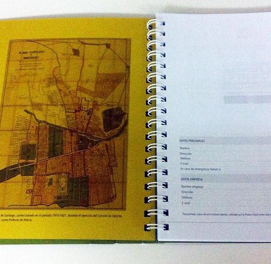 Cuaderno Museo de Carabineros