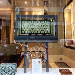 House of Garrard Window Display