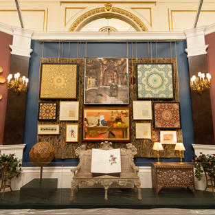 Prince and Patron Exhibition at Buckingham Palace