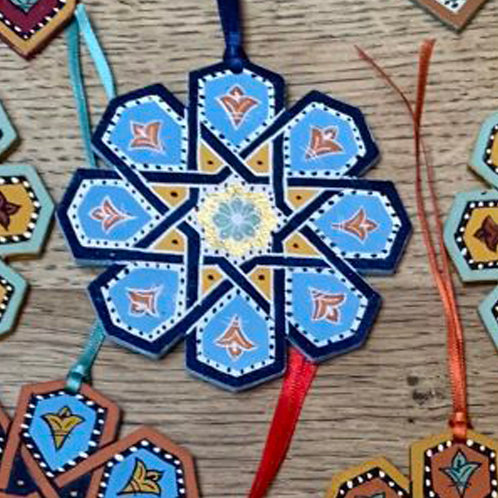 Hand Painted Wooden Decoration