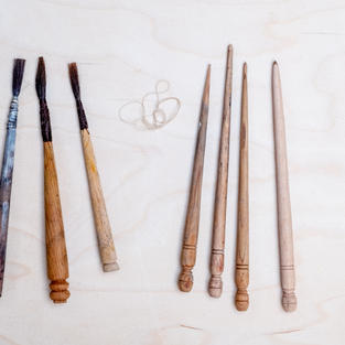 Materials for the Brushes