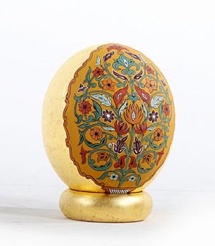 Golden Ostrich Egg