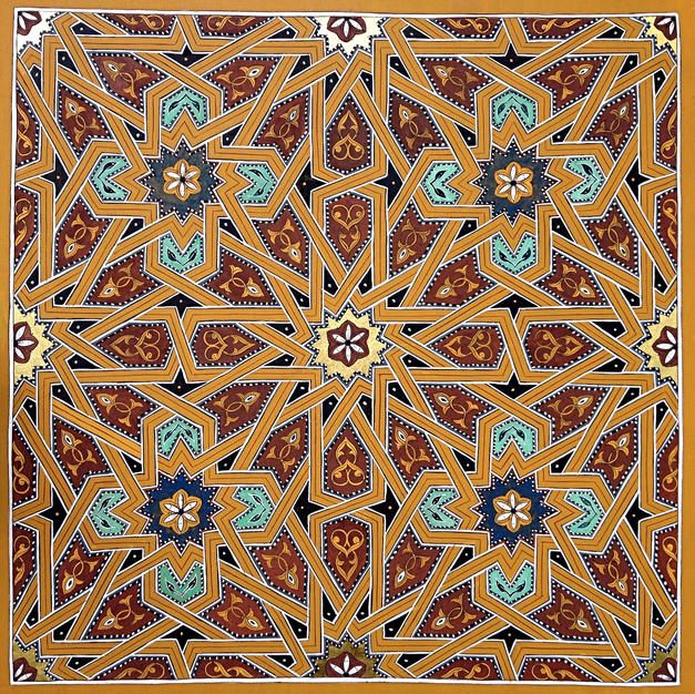 Twelve-Fold Maghreb Geometry