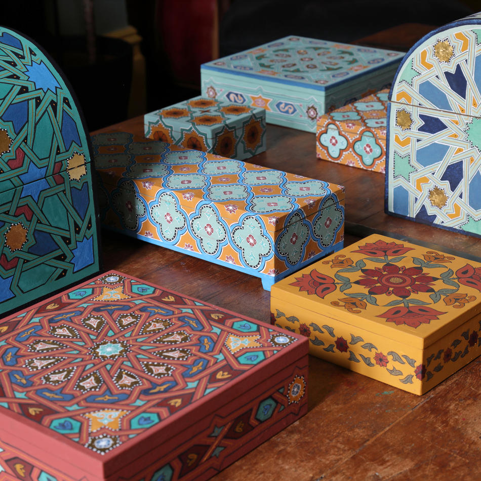 Handpainted Boxes