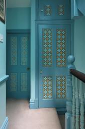 Set of Painted Doors