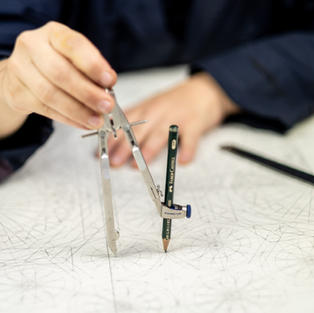 Drawing Geometry with a Compass