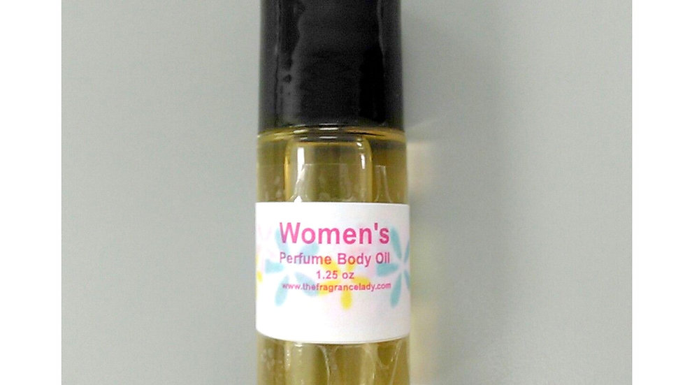 Perfume Body Oil Roll On 1.25 oz (Large)