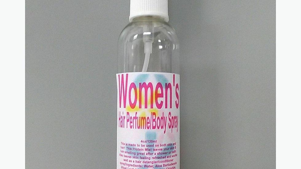 Hair Perfume & Body Spray Mist 2 Oz