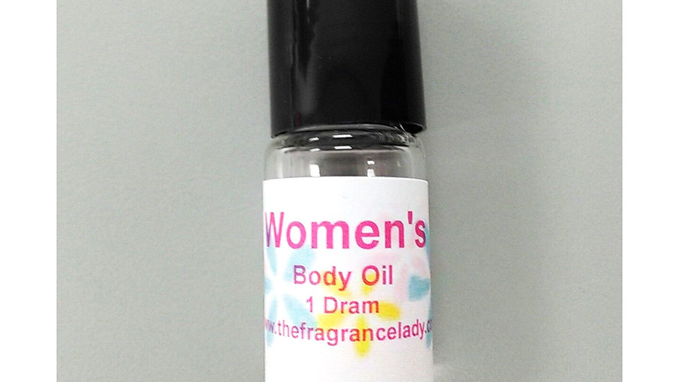 Perfume Body Oil Roll On 1/8 oz