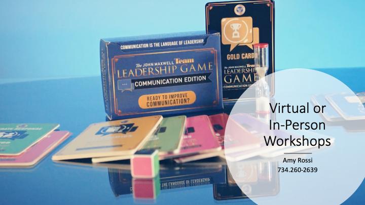 Leadership & Communication Game Workshop