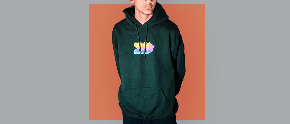 Graphic Logo Hoodie