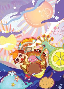 Girl Bebbe's Adventure