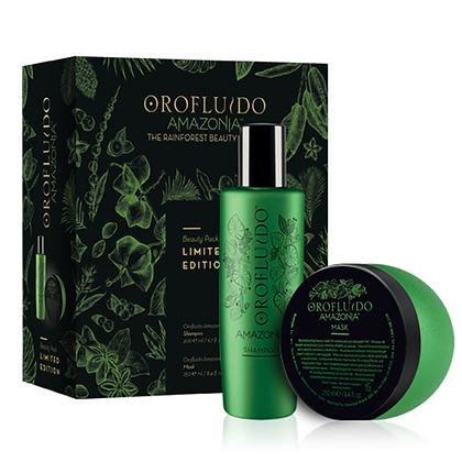 Orofluido Amazonia Beauty Pack (Shampoo 200 ml + Mask 250 ml)