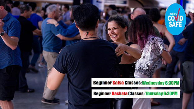 Beginners Salsa, Bachata & Latin dance Classes In Sydney