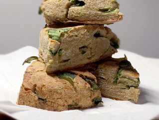 Spinach Breakfast Biscuit